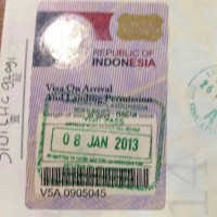 インドネシア到着ビザ35米ドル