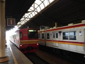 ジャカルタ都市圏の電車 KRL (Jabodetabek/ジャボデタベック)