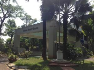 コタブキットインダー(KOTA BUKIT INDAH) マーケティングオフィス入り口